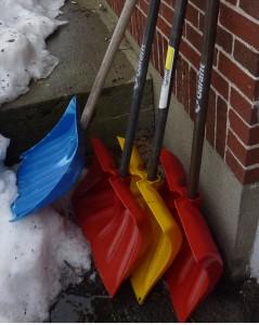 It takes a village of shovels.