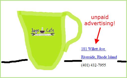 making coffee_sage mug